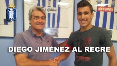 """Photo of El Recre hace a Diego Jiménez """"corazón azul y blanco"""""""