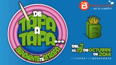 "Photo of DE TAPA A TAPA … BENAVENTE TE ATRAPA"", DEL 2 AL 19 DE OCTUBRE DE 2014."