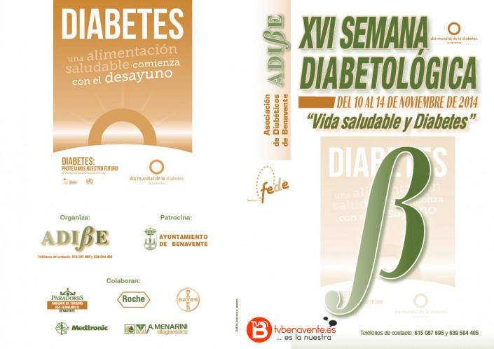 XVI Semana Diabetológica folleto