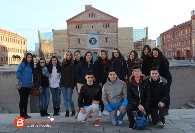 Los 15 alumnos participantes de la Vega en el campus Viriato de Zamora