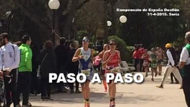 Photo of Teresa Herráez y Sixto Vaquero con poco premio a tanto esfuerzo en Soria