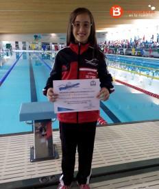 Bianca del Barrio en la Final del Nadador Promesa