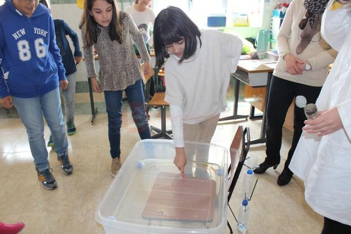 Experimentos con el agua en inglés