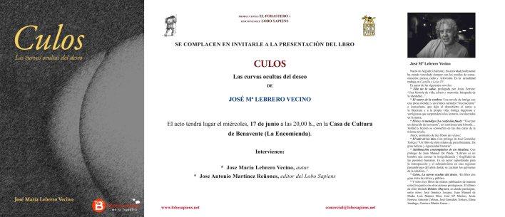 presentación libro Culos