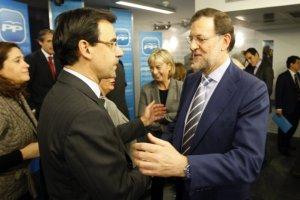 27/01/2011 Fernando Martínez Maillo, portavoz popular en la FEMP junto a Mariano Rajoy. POLITICA CASTILLA Y LEÓN ESPAÑA EUROPA EP/REMITIDO