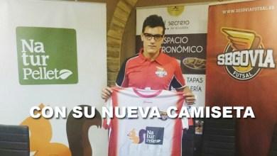 Photo of Dani Simón presentado como nuevo jugador del Segovia Futsal