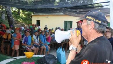"""Photo of Los acampados en Sanabria conocen al """"niño lobo"""""""