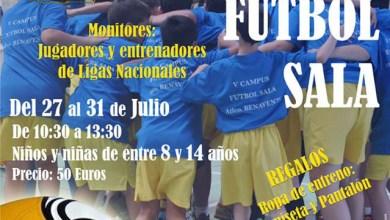 Photo of Jugadores y técnicos de renombre conducirán el VI Campus de Fútbol Sala del At. Benavente