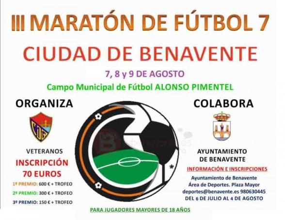 tercera maraton futbol 7 benavente veteranos 2015
