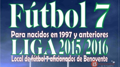 Photo of Abierto el plazo de inscripción para la temporada 2015-2016 de Fútbol 7