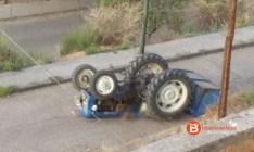 tractor volcado