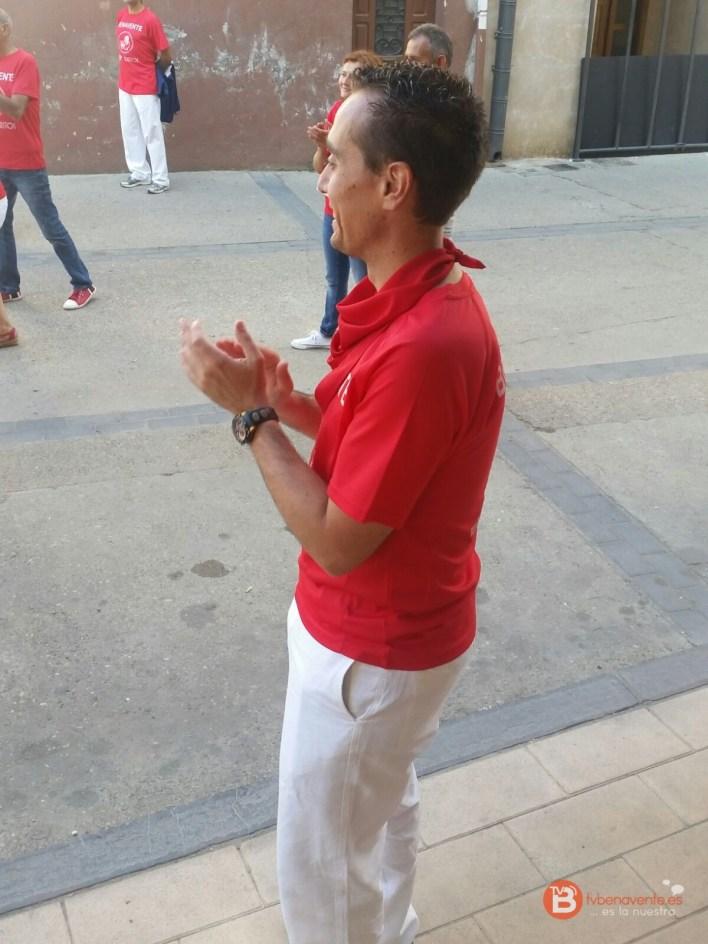 alcalde de benavente - luciano huerga - congreso de toros - lodosa 2015 - benavente
