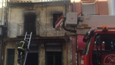Photo of Importante incendio en la Calle Santa Cruz de Benavente