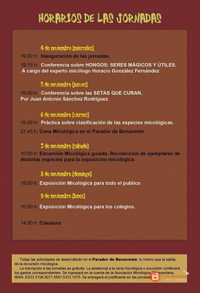 Programa micología  2015