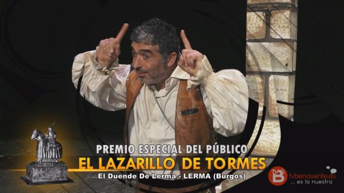 PREMIO ESPECIAL DEL PÚBLICO - TEATRO BENAVENTE 2015