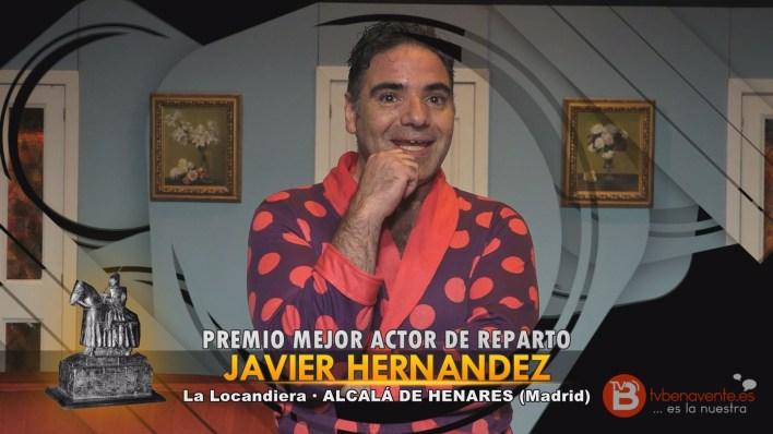 PREMIO MEJOR ACTOR DE REPARTO - TEATRO BENAVENTE 2015