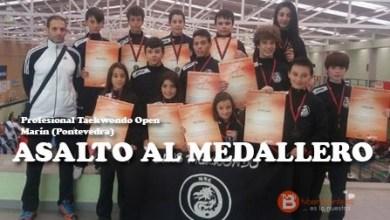 Photo of Aluvión de medallas del Taekwondo Benavente en Marín y Avilés