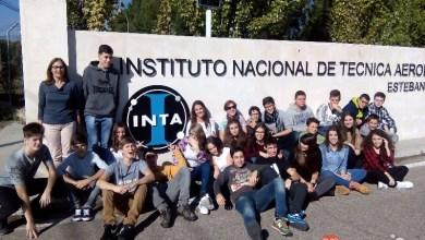 Photo of El Colegio San Vicente de Paúl visita el Instituto Nacional de Tecnología Aeroespacial