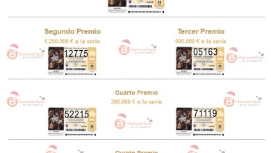 Photo of Premios Lotería de Navidad 2015 (22/12/2015)