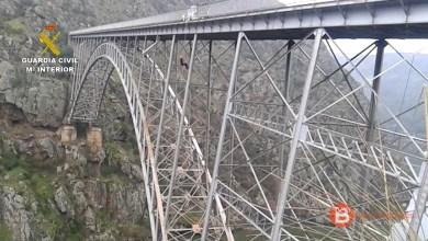 Photo of La Guardia Civil recupera el cadáver de un perro colgado en el Puente de Requejo e inicia la investigación judicial