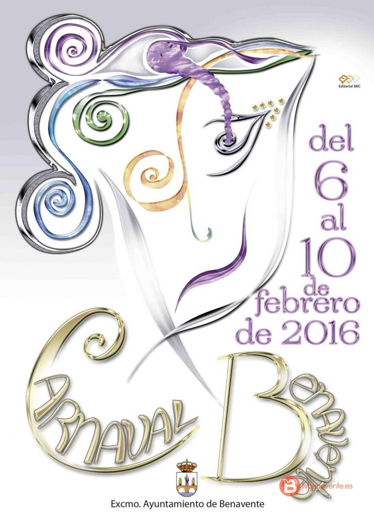 Benavente Carnaval 2016 - Cartel