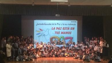 Photo of El colegio San Vicente de Paul celebra el día escolar de la paz y la no violencia