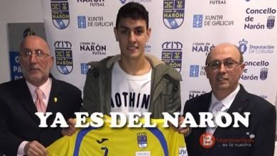 Photo of Sergio Simón firma como estaba previsto con el Cidade Narón