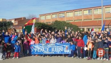 """Photo of Fotografías de la """"Peace Run"""" en Benavente"""