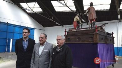 Photo of El Redopelo benaventano estrena mesa procesional