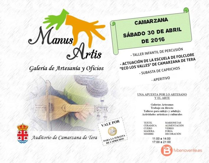 Cartel-musica-tradicional-camarzana de tera.manus artis 2016