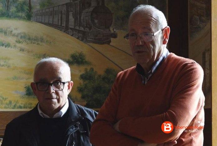 Don Tomas Calero y Escritor Libro Cofradia del Carmen