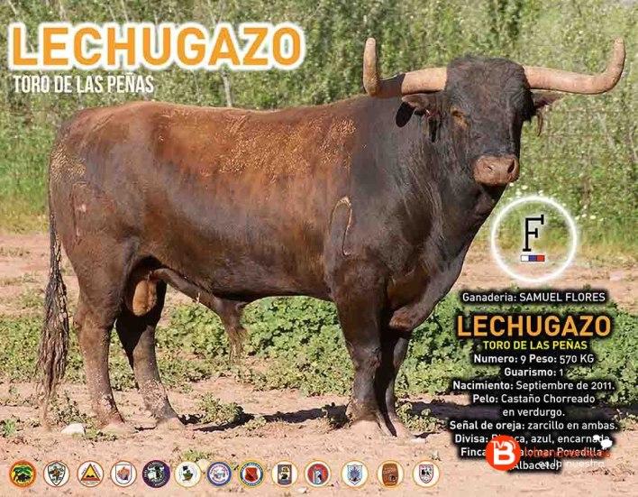 TORO DE LAS PEÑAS - Lechugazo - BENAVENTE 2016