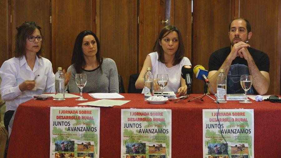 Presentacion Primer Encuientro Jornada Desarrollo Rural 2016 - Benavente
