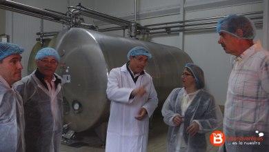 Photo of La presidenta de la Diputación de Zamora visita la fábrica de Quesos el Pastor de la Polvorosa