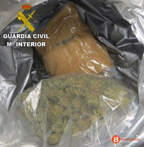 droga guardia civil