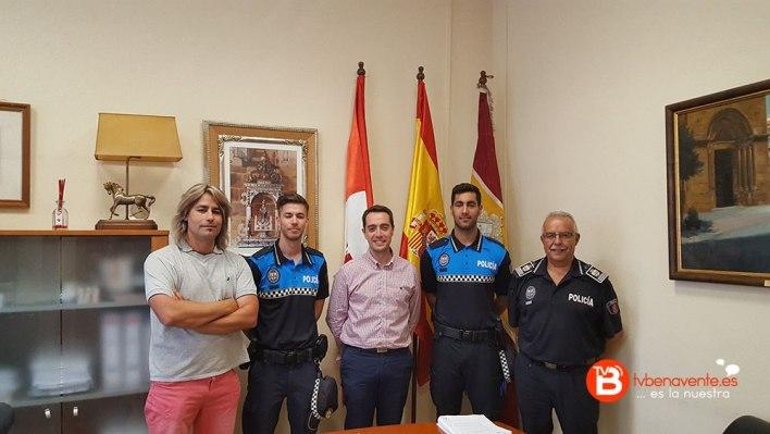 Policia municipal prácticas