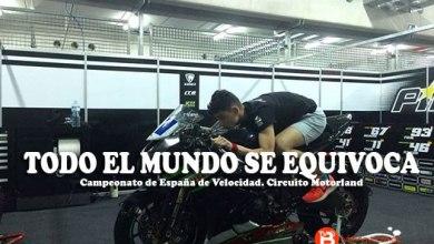 Photo of Iker Carrera arrepentido tras irse a boxes al verse doblado