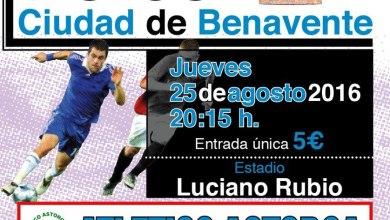 Photo of C.D. Benavente y Atlético Astorga se disputan el XLIV trofeo Ciudad de Benavente