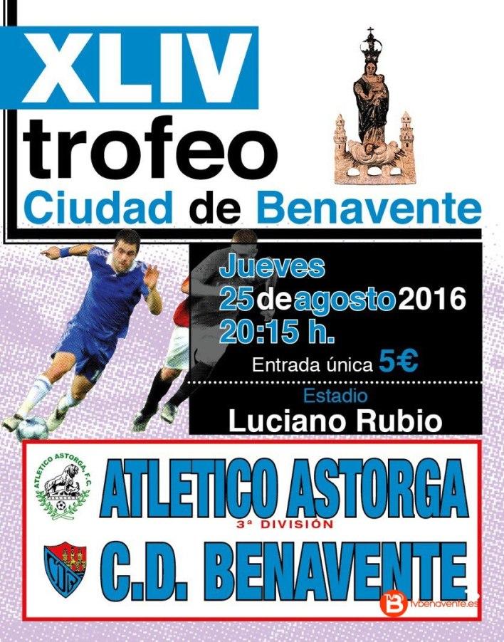 cartel club deportivo benavente atletico astorga