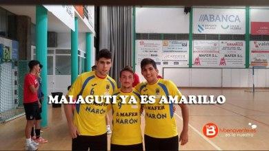 Photo of Malaguti ya ha sido presentado por el Cidade Narón.