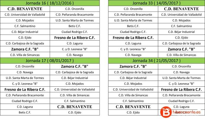 temporada 2016-2017 4 c.d benavente