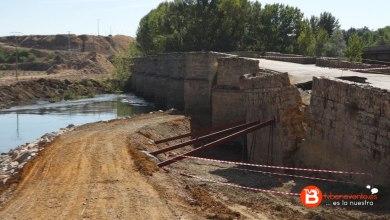 Photo of VIDEO: Reconstrucción en el puente de Castrogonzalo