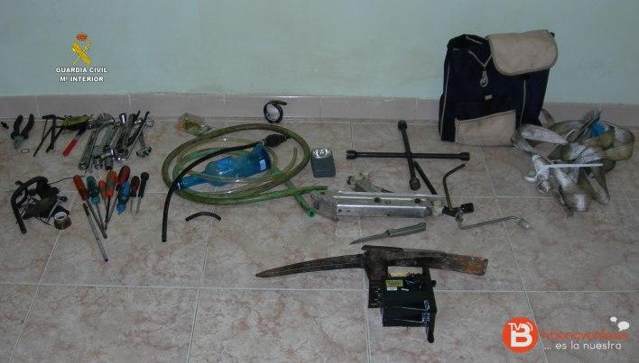 herramientas robo con fuerza