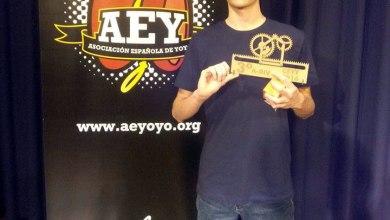 Photo of Jorge Furones se clasificó tercero en el Campeonato de España de yoyo