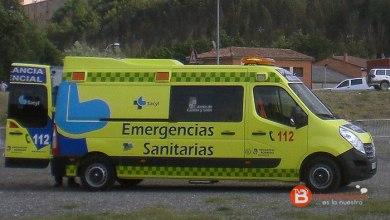 Photo of Dos jóvenes heridos al colisionar un turismo y un camión en Vega de Tera