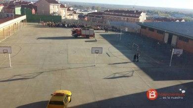 Photo of Primer simulacro de evacuación en el Colegio Virgen de la Vega