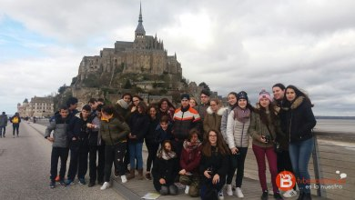 Photo of GALERÍA: Los alumnos del IES Los Sauces realizan un viaje para conocer Francia