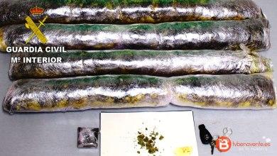 Photo of Incautados 4,5 kg de Marihuana por la Guardia Civil de Zamora
