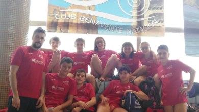 Photo of 12 medallas para el Benavente Natación en el Campeonato Autonómico Alevín