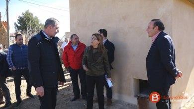 Photo of Visita a las obras de mejora de la red de abastecimiento en Pobladura del Valle